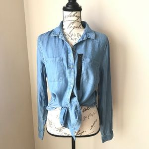 Banana Republic Boyfriend Fit Denim Shirt